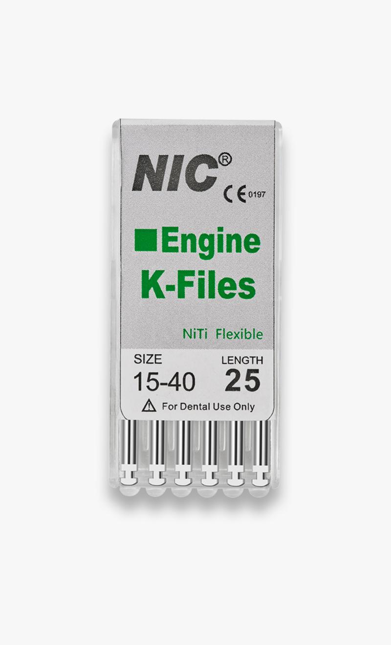 NiTi Rotary K-Files